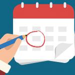 Calendario de exámanes de septiembre 2020