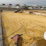 Obras de ampliación de las caracolas de Bachillerato