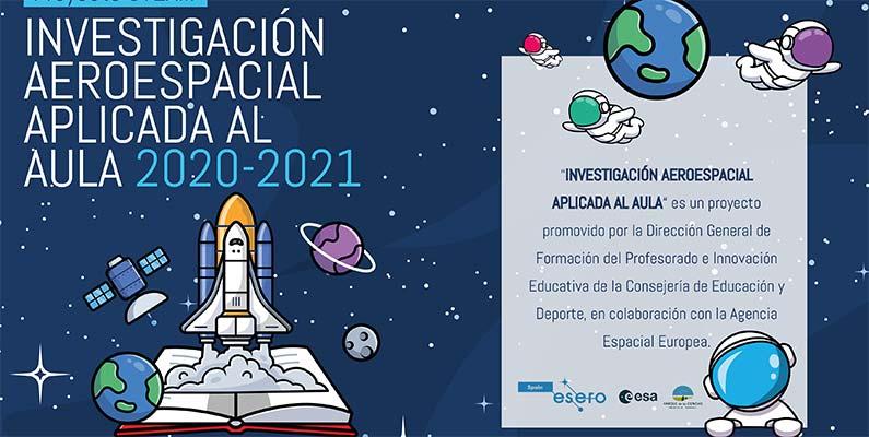 Proyecto STEAM: Investigación Aeroespacial aplicada al aula